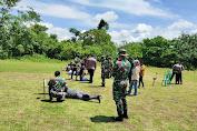 Tingkatkan Sinergitas TNI-Polri, Kipan A Yonif 725/Woroagi Latihan Bersama Polres dan Perbakin Bau-bau