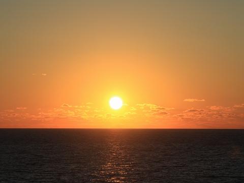 新日本海フェリー「らいらっく」 航行中 その3