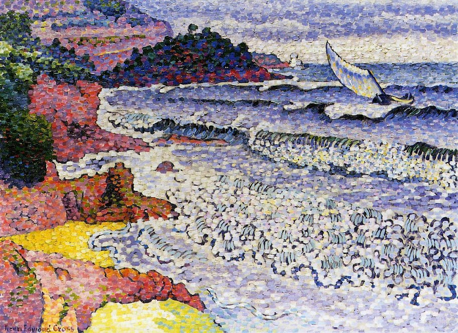 Henri-Edmond Cross - The Lapping Sea