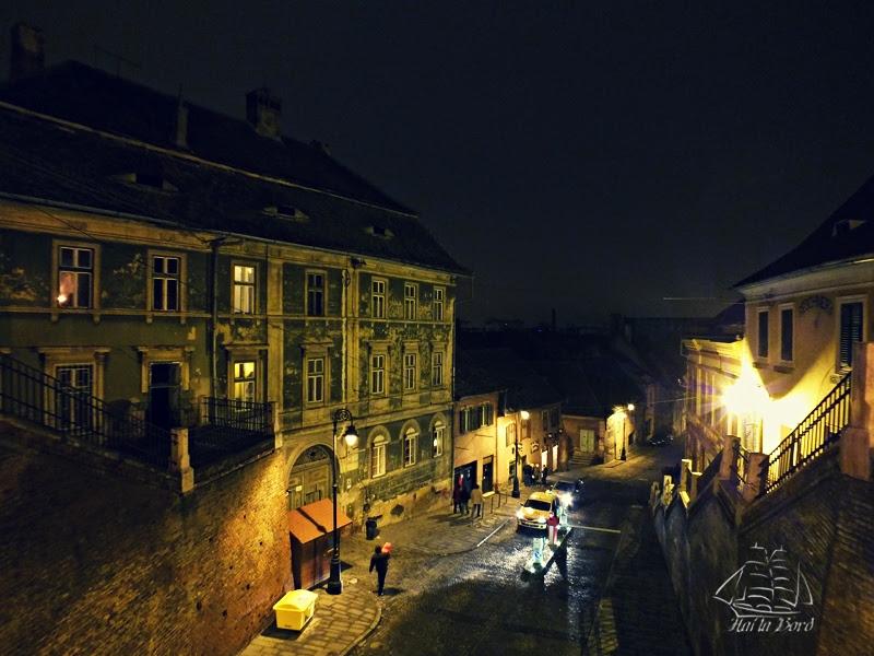 peisaj noapte sibiu