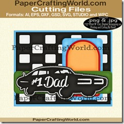 card #1 dad car cfb-325