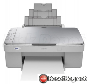 Reset Epson CX3600 Waste Ink Counter overflow problem