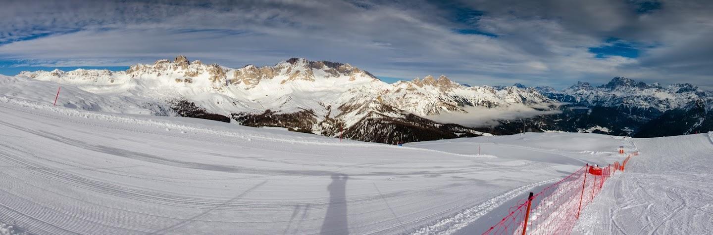 Panorama spre Cima Uomo 3003m