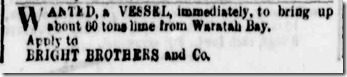 ad for ship 1876