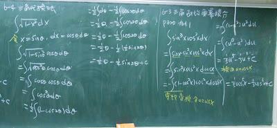 三角函數乘冪積分