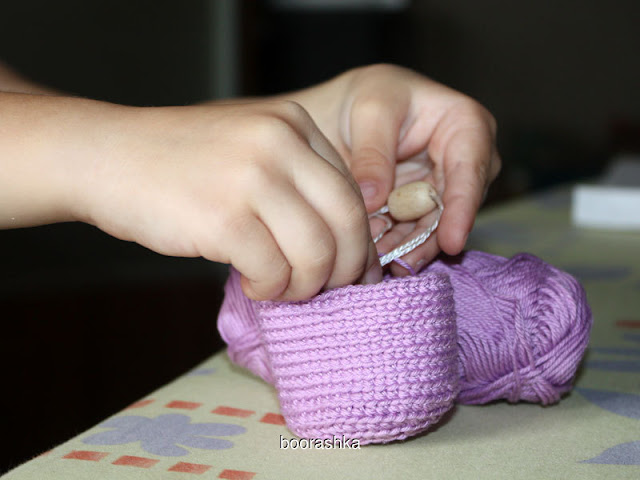 crochet sensory toy
