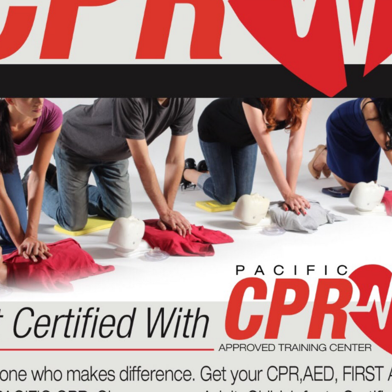 Pacific Cpr Cprfirst Aid Aedbls Baby Sitters