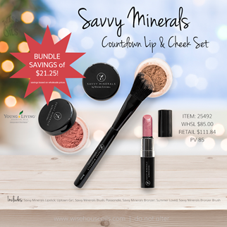 Young Living Gift Ideas Holiday Catalog 2018 SM Lips and Cheeks Set Countdown A savings