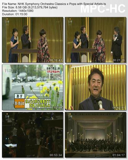 [TV-Variety] NHK – N響クラシックスxポップスwithスペシャル・アーティスツ (TS)