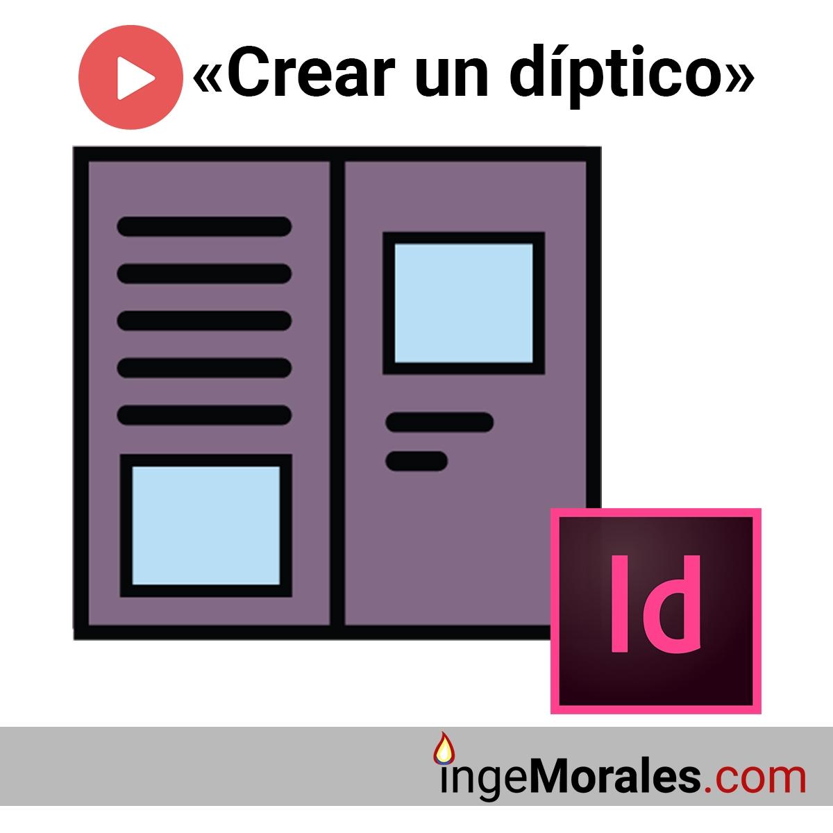 Creación de un díptico en InDesign