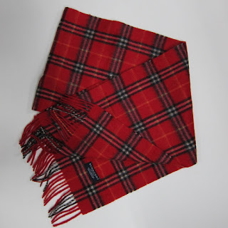 Burberry Lamb's Wool Scarf