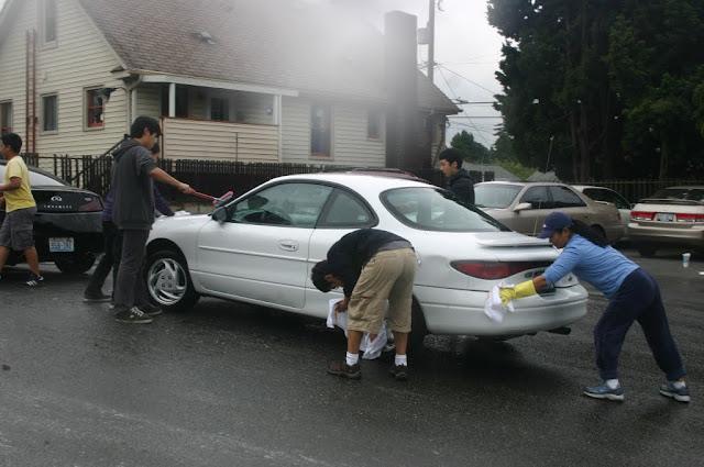 Tibetan Sunday School: Car Wash Fundraiser - IMG_4343.JPG