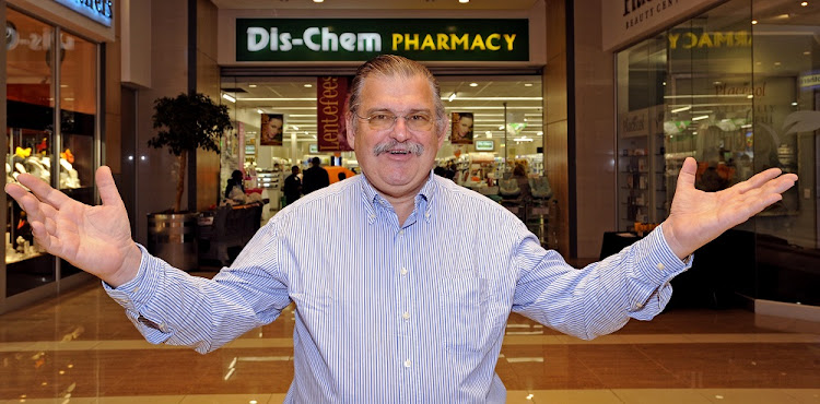 Ivan Saltzman CEO of Dischem.