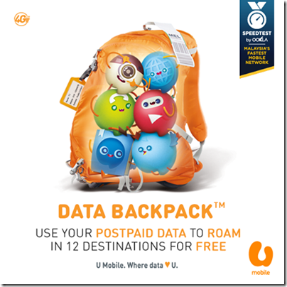 U Mobile - DATA BACKPACK