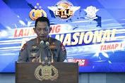 Launching Etle Nasional Tahap 1, Kapolri : Ini Penegakan Hukum Berbasis Teknologi Informasi