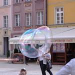 Massive bubble from a busker!