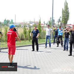 Fotorelacja z  bezpłatnego treningu Motocyklowego organizowanego przez  YAMAHA Motocykle Lublin , który przeprowadziła Moto-Sekcja na Torze ODTJ Lublin w dniu 04.08.2018r.
