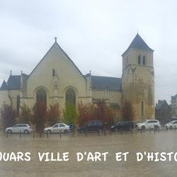 Thouars et le château d