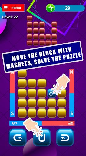 Magnetic blocks, logic puzzles from blocks screenshot 1
