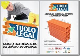 TIJOLO LEGAL