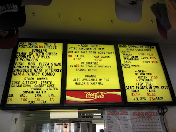 The Root Beer Stand Menu