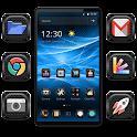 Katmai - Black High Tech Theme icon