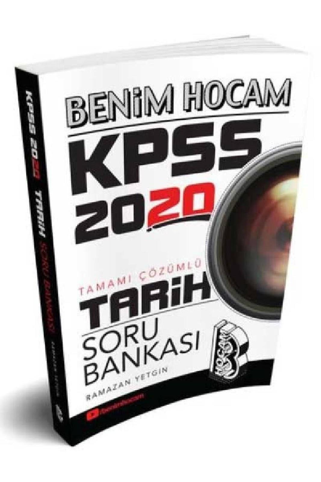 Benim Hocam Yayınları - KPSS Tarih - Soru Bankası