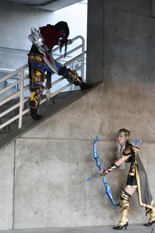 Missyeru và cosplay Ashe tuyệt đẹp tại Pax Prime 2012 - Ảnh 11