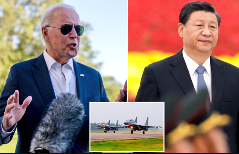 US warns China to stop provoking Taiwan after Beijing sent 77 aircraft including nuclear bombers into island's airspace