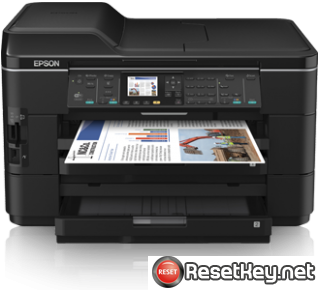 Reset Epson WorkForce WF-7525 printer Waste Ink Pads Counter