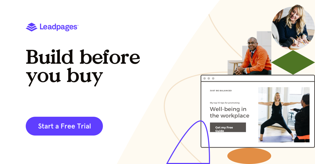 Try Leadpages Free for 14 Days