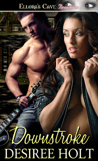 Guest Review: Downstroke by Desiree Holt