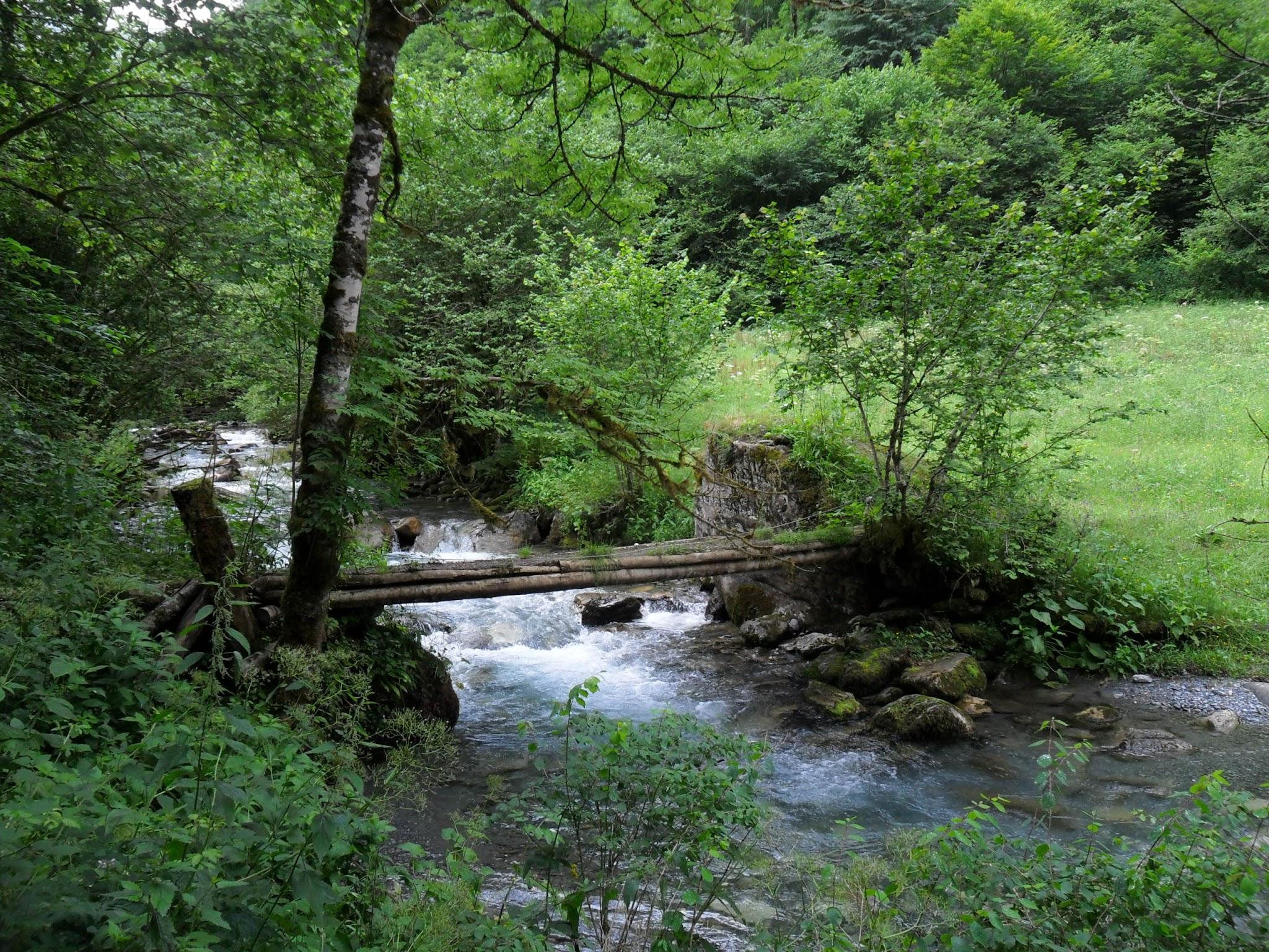 Ruisseau de l'Artigue, Brücke
