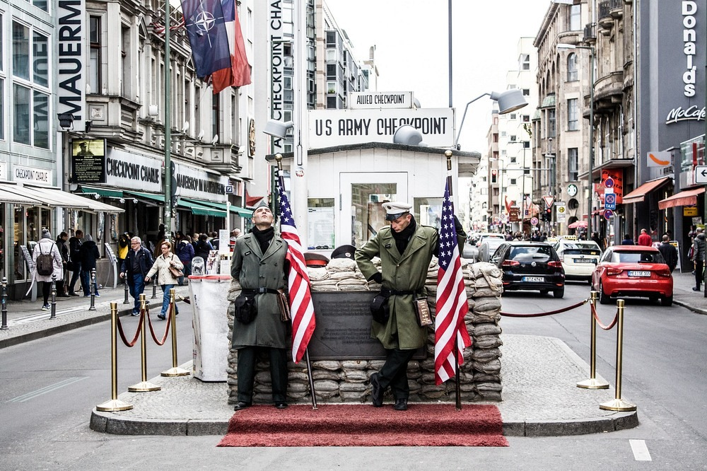 Image result for checkpoint charlie""