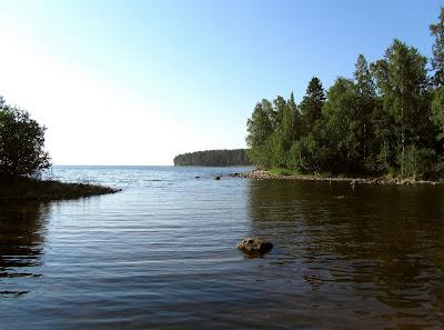 Утро на Онежском озере