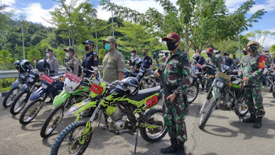 Sinergi dengan Kementan RI, Dansatgas Pamtas 641 Pimpin Patroli Bersama Jalur Darat