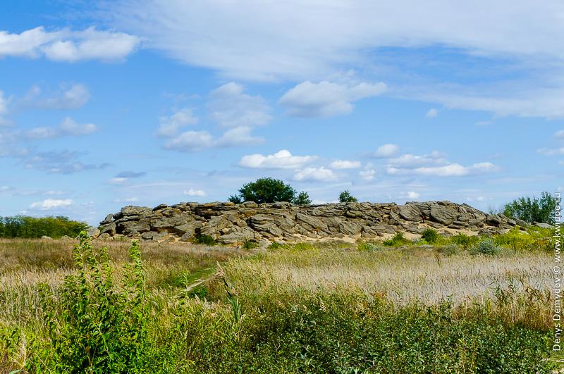 Каменная Могила в Запорожской области Украины