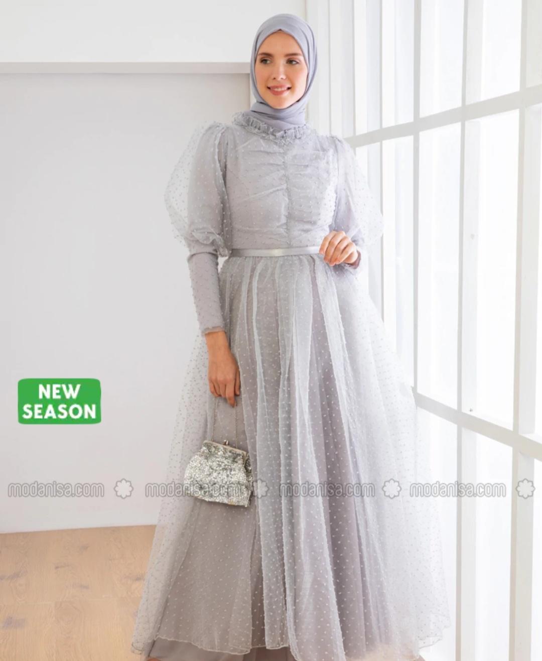 robe soirée hijab