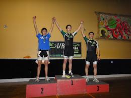 Classe ouverte masculine 1. Patrick Vallée VRL   2. Juan Diego Zuluaga VRAM  3.Stéphane Charron VRL