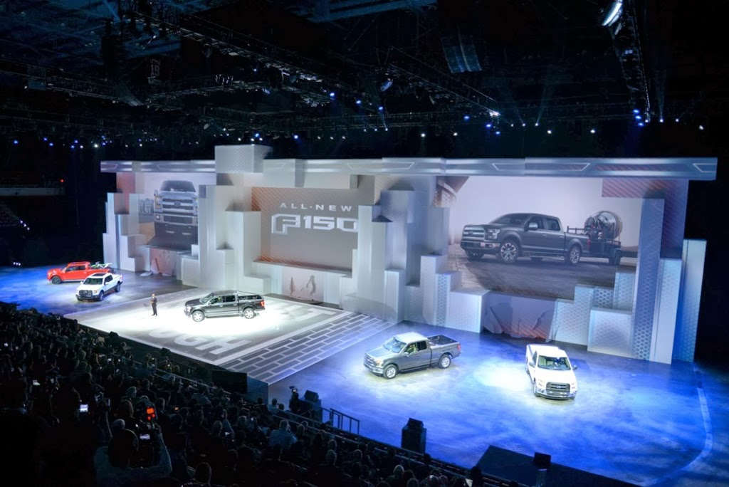 2015 Ford F-150 Unveiling NAIAS 10