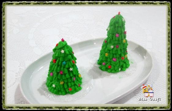 Árvore de natal de casquinha de sorvete 1
