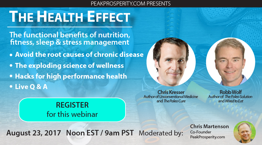 The Health Effect webinar ad