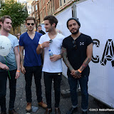 WWW.ENTSIMAGES.COM -   Kids in Glass Houses at   Carnaby Sound -  Carnaby Street London July 6th 2013                                                   Photo Mobis Photos/OIC 0203 174 1069