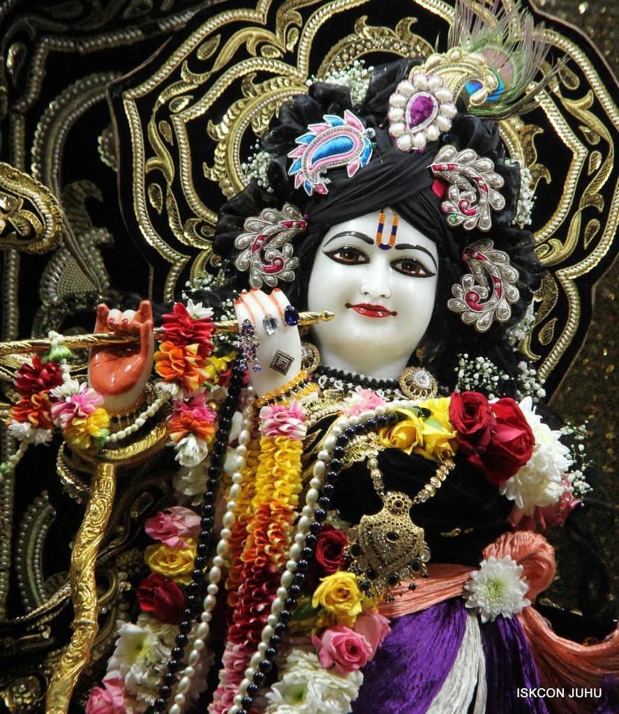 ISKCON Juhu Sringar Deity Darshan 7 Jan 2017  (6)