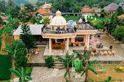 Saenur Resto di Kabupaten Bogor Letaknya di Tengah Sawah