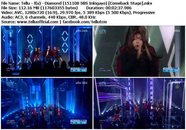 Download Perf F X Diamond 4 Walls Sbs Inkigayo