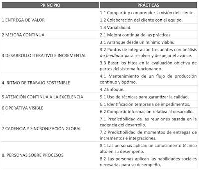 Principios y prácticas de la Dimensión Técnica