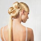 Avant-garde penteado coque intrincado com rabo de cavalo longa reta.jpg