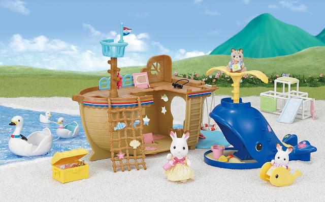 Bộ tàu truy tìm kho báu Epoch Adventure Treasure Ship Gift Set