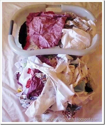 Major Craft De-Stash, Part 2: Fabric Scraps